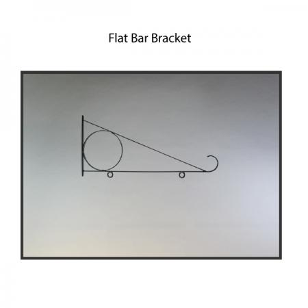 Flat Bar Bracket