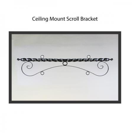 Ceiling Mount Scroll