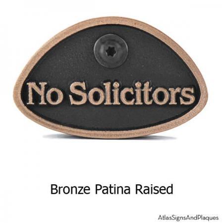bronze no solicitors