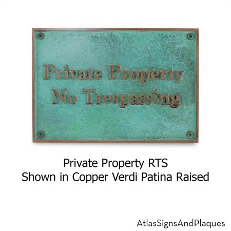Private Property RTS Copper Verdi