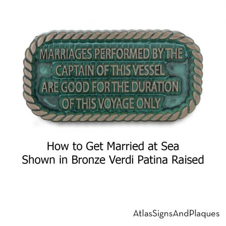 how to get married at sea