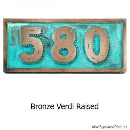 Rustic Modern Address sign