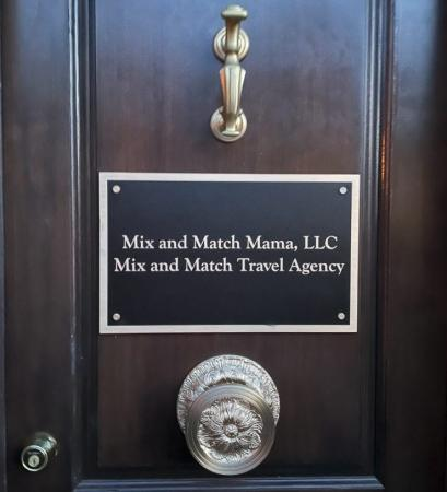Goudy Business Plaque