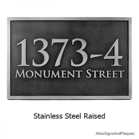 Raised Stainless Steel Rockdale Station