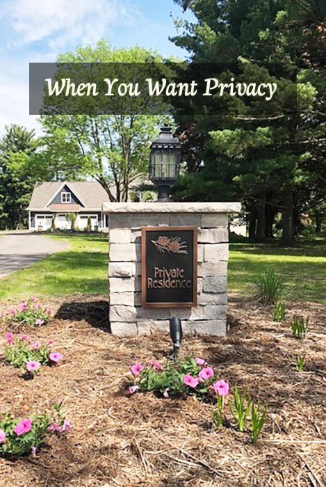 Privacy Plaques