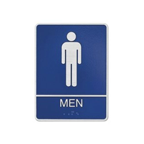 Restroom Sign Men