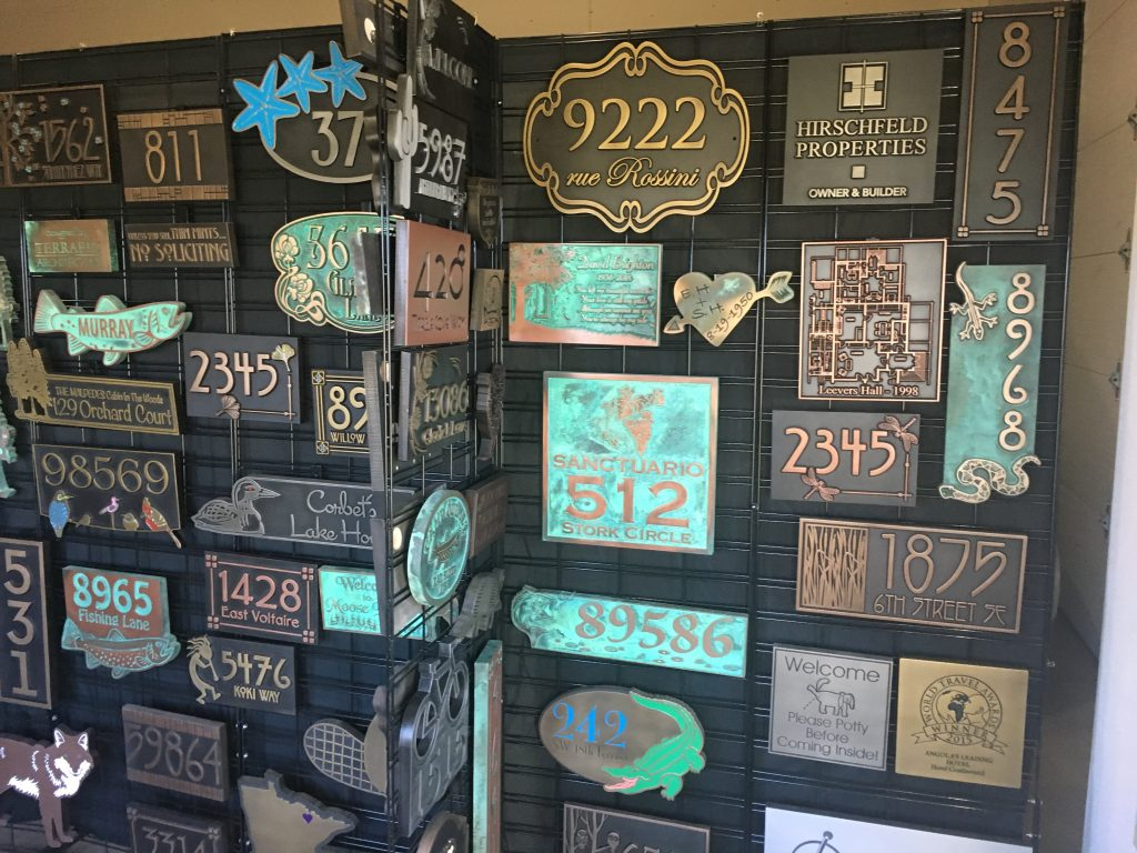 No Soliciting Signs, Address Plaques, MIA and Military, Man Cave, Privacy and Message Signs Custom Made at Atlas Signs and Plaques