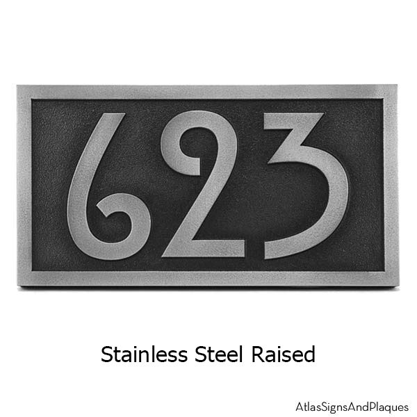 Stainless Steel Stickley Numbers ONLY