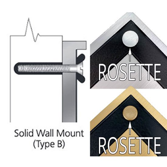 Solid Wall Mount (free)