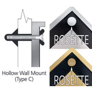 Hollow Wall Mount