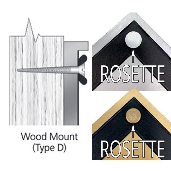 Wood Mount (free)