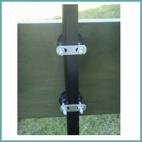 Ubolts for fence -send dimensions (+25)